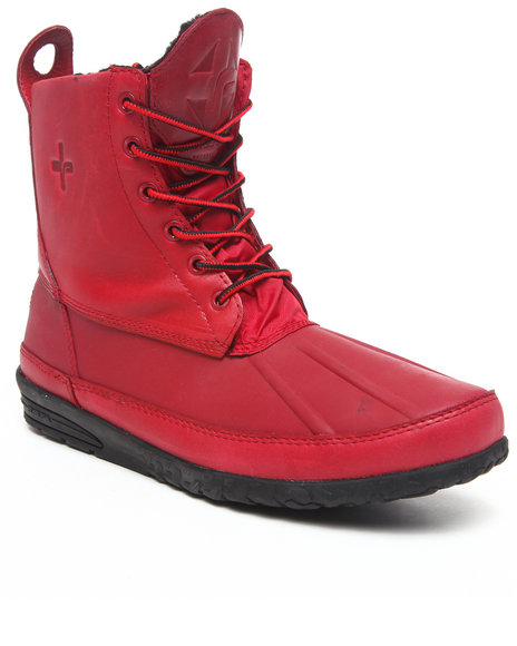 Psyberia Red Mudguard Boot