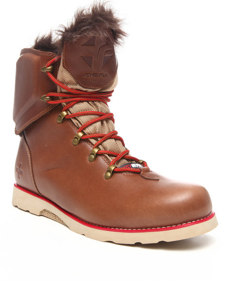 Psyberia - Men Brown Hiker Boot