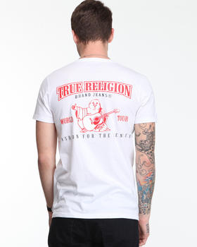 True Religion - Single Puff Crewneck Tee