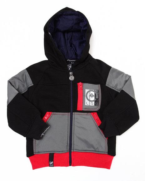 LRG Boys Black Artic Trails Jacket (4-7)