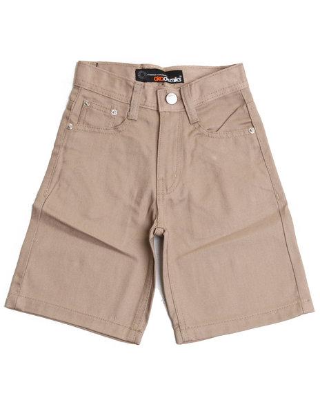 Akademiks Boys Khaki Bull Denim Shorts (8-20)