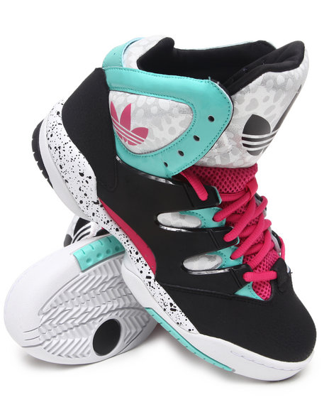 Adidas Women Green,Multi,Pink Good Luck Charm Sneakers