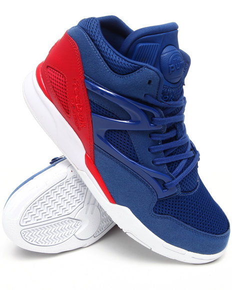 Reebok Men Blue Reebok Pump Omni Lite Sneakers