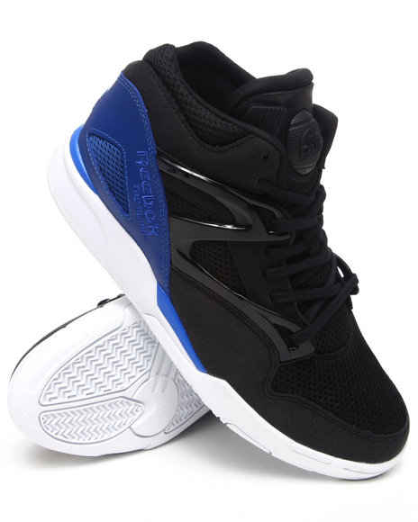 Reebok Men Black Reebok Pump Omni Lite Sneakers