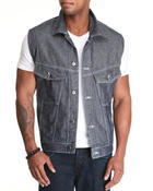Vests - Mens Denim Vest