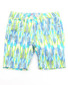 Girls - TRIBAL PRINT SHORTS (4-6X)