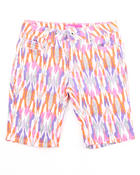 Shorts - TRIBAL PRINT SHORTS (7-16)