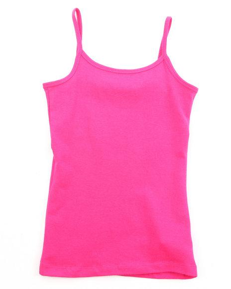 La Galleria Girls Cami Tank Top 716 Dark Pink 1012 M