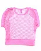 Girls - MESH TOP  & TANK (4-6X)