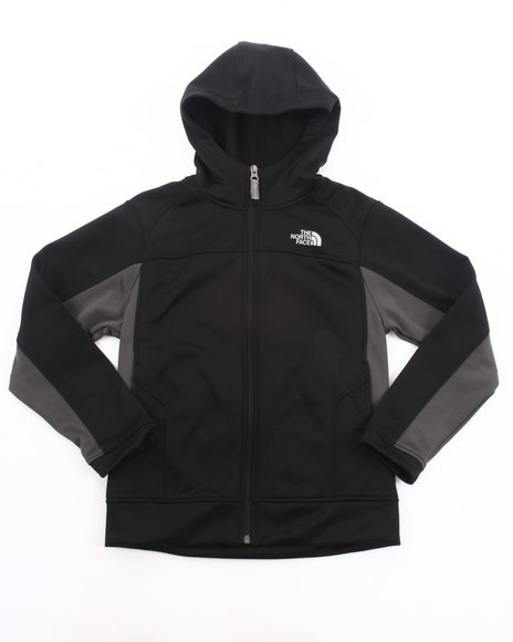 The North Face Boys Black Surgent Full Zip Hoodie (4-20)