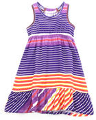 Dresses - STRIPED RACERBACK DRESS (4-6X)