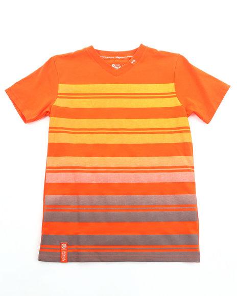 LRG Boys Orange Rootsdeau V-Neck Tee (8-20)