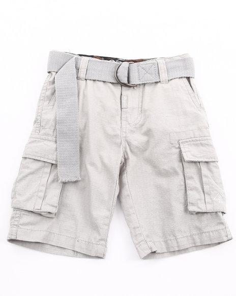 LRG Boys Grey Cargo Shorts (2T-4T)