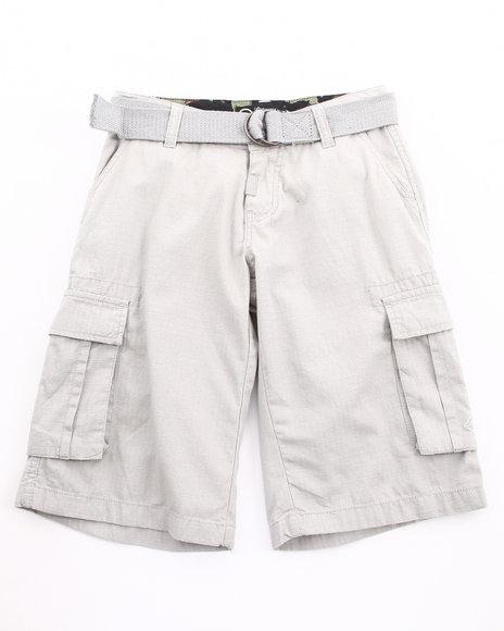 LRG Boys Grey Cargo Shorts (8-20)