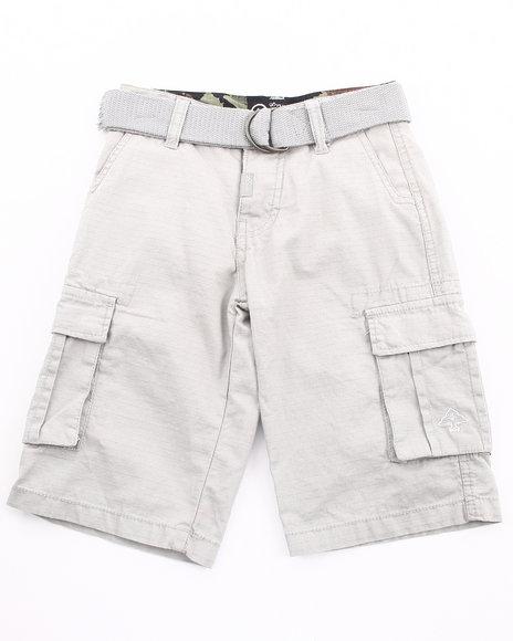 LRG Boys Grey Cargo Shorts (4-7)