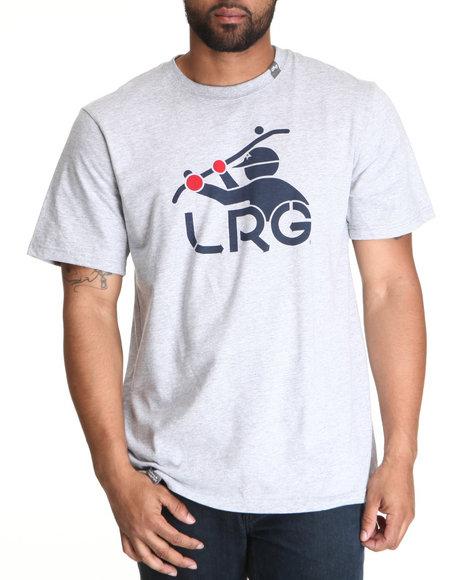 LRG Men Light Grey South Sider Tee