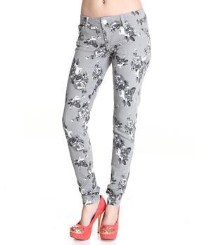 Celebrity Pink - Love Me Floral Skinny Jeans