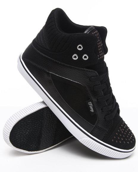 Pastry Women Black Sire Varsity Sheek Sneaker