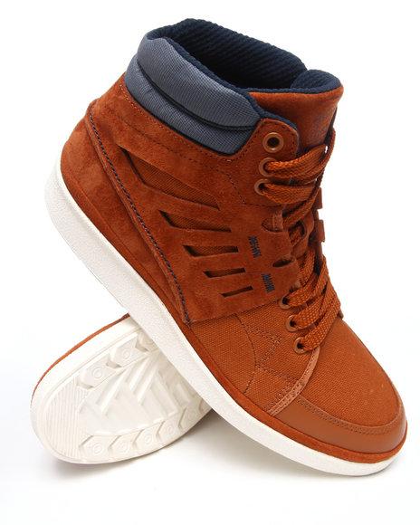 Puma Men Brown The Bharrington Mid Sneakers