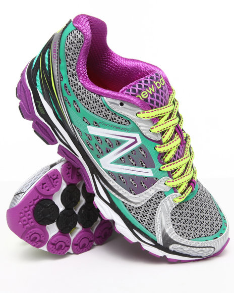 New Balance - Women Silver W1080v3 Running Sneakers - $99.99