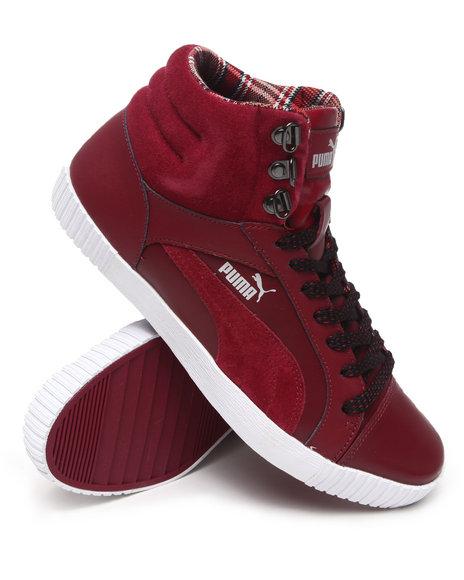 Puma Men Maroon Street Jump Winterized Sneakers