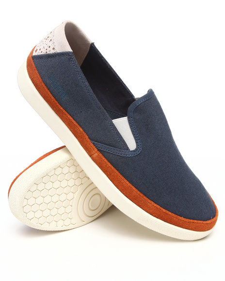 Puma Men Navy Ansbach Slip On Sneakers