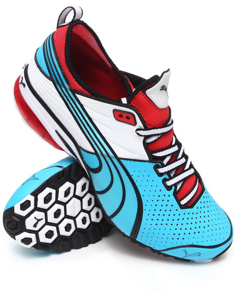 Puma Men Blue Toori Run C Sneakers