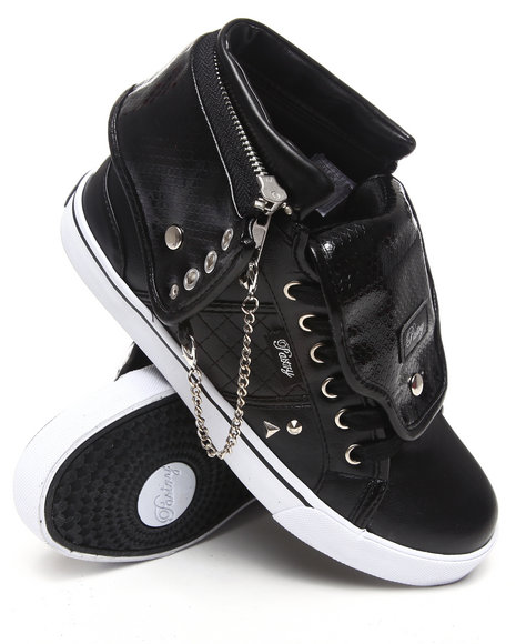 Pastry Women Black Sugar Rush Spikes Sneaker