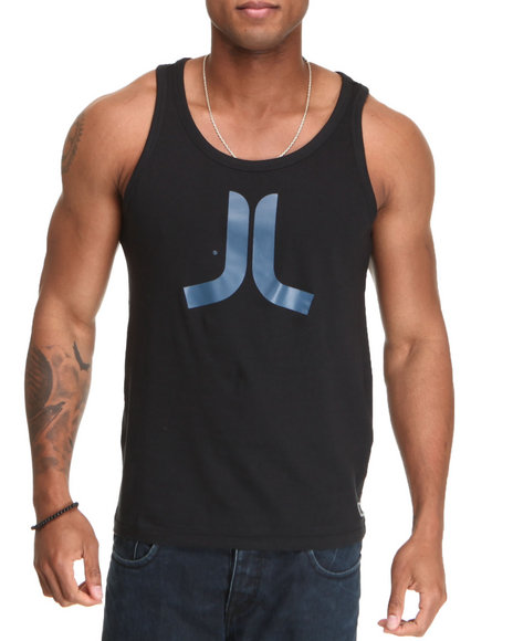 Wesc Men Black Icon Tank Top