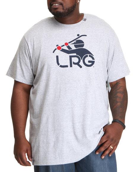 LRG Men Grey South Sider Tee (B&T)