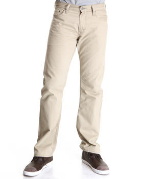 Levi's - 514 Slim Straight Fit Chinchilla Soft Washed Twill Pants