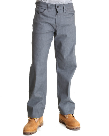 Levi's - 569 Loose Straight Fit Grey Rigid Jeans
