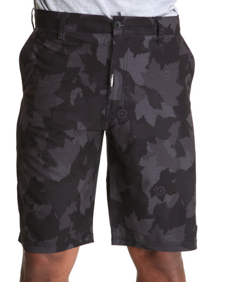 LRG Men Black,Camo Core Collection Salamander Camo Shorts