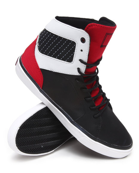 Radii Footwear - Men Black Simple Sneakers