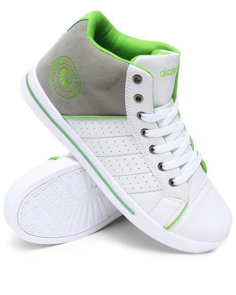 Akademiks Men Lime Green Rolodex Hightop Sneaker