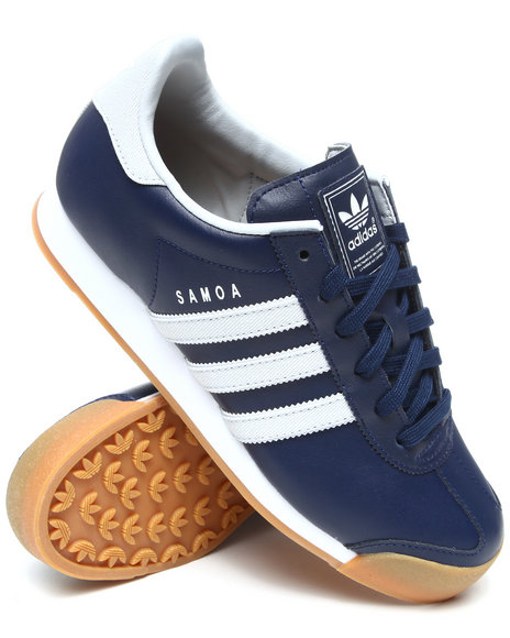 Adidas Men Navy Limited Edition New York Yankees Samoa Sneakers