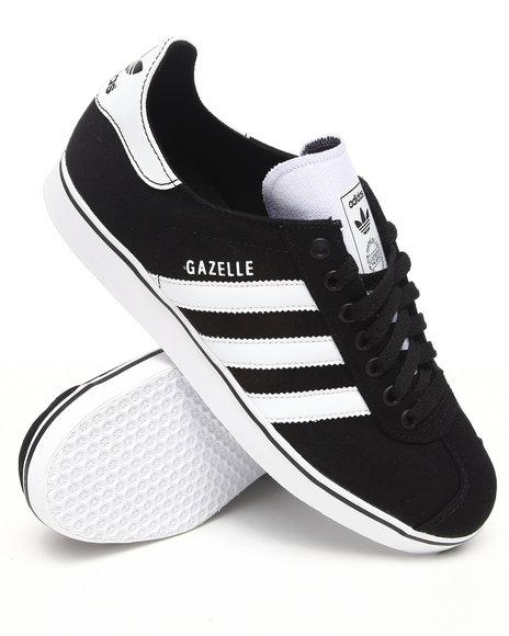 Adidas Men Black Gazelle Rst Sneakers