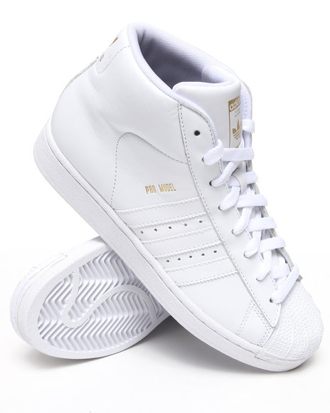 Adidas - Men White Pro Model Sneakers