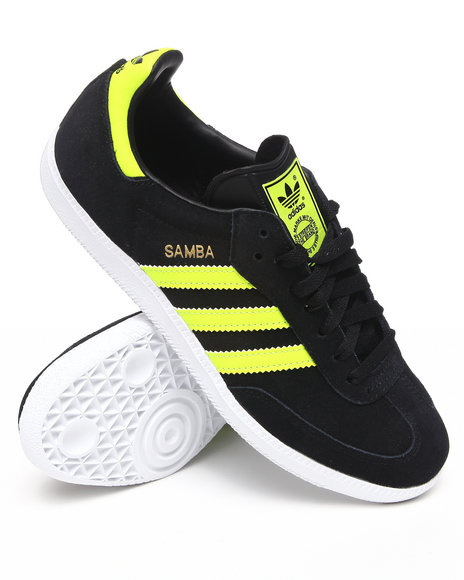 Adidas Men Black Samba Sneakers