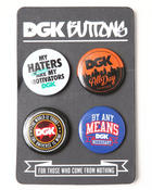 DGK - DGK 4-Piece Button Set