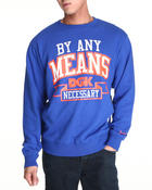 DGK - By Any Means Crew Fleece Sweatshirt