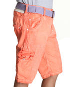 Jet Lag - Spray washed cargo shorts