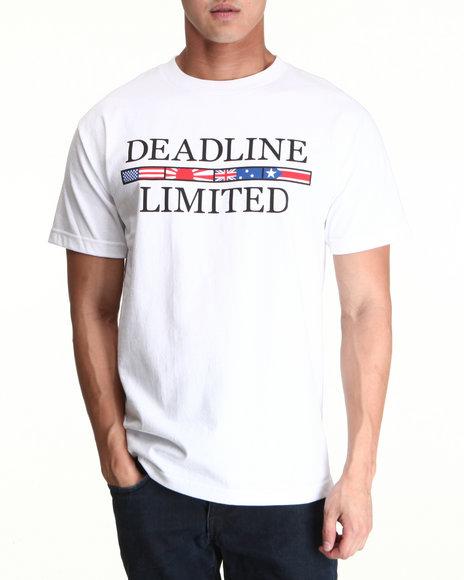 Deadline White International Tee