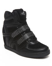 Wedges - Gavin Bling Strap Wedge Sneaker