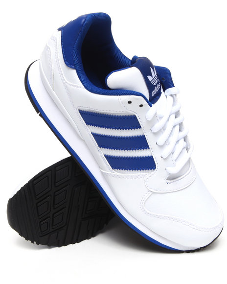 Adidas Men White Zxz Wlb Leather Sneakers