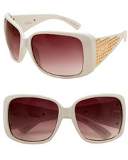 Women - Grommet Trimmed Sunglasses
