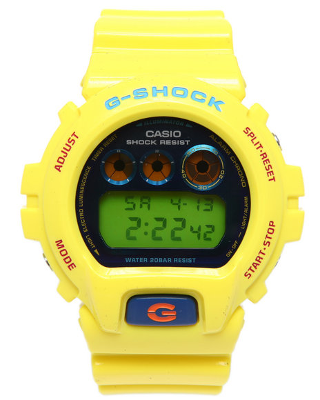 G-Shock By Casio Dw-6900Pl-9 Watch (Limited Edition) Yellow