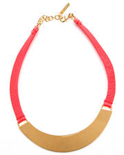 Vince Camuto - Plated Bib Necklace