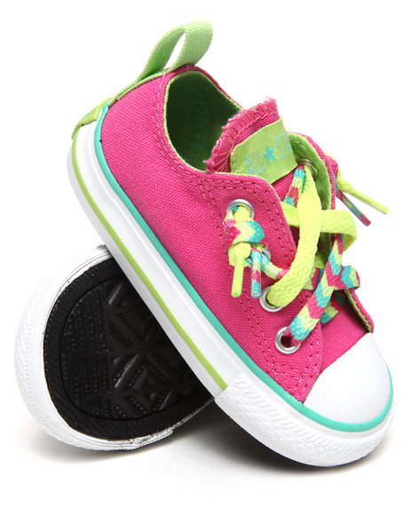 Converse Girls Pink Chuck Taylor All Star Kriss N' Kross (5-10)