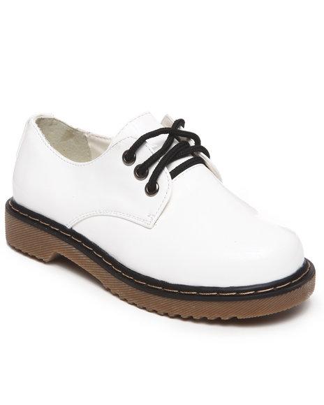La Galleria Girls White Cookie Oxford (11-4)